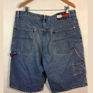 Tommy Hilfiger Shorts Men's Size 38 Denim Retro